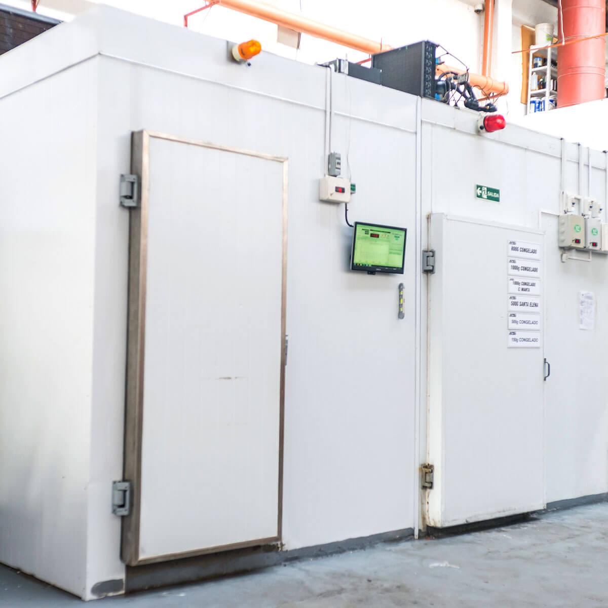 Diseño y calificación de configuración para el transporte de productos de cadena de frío