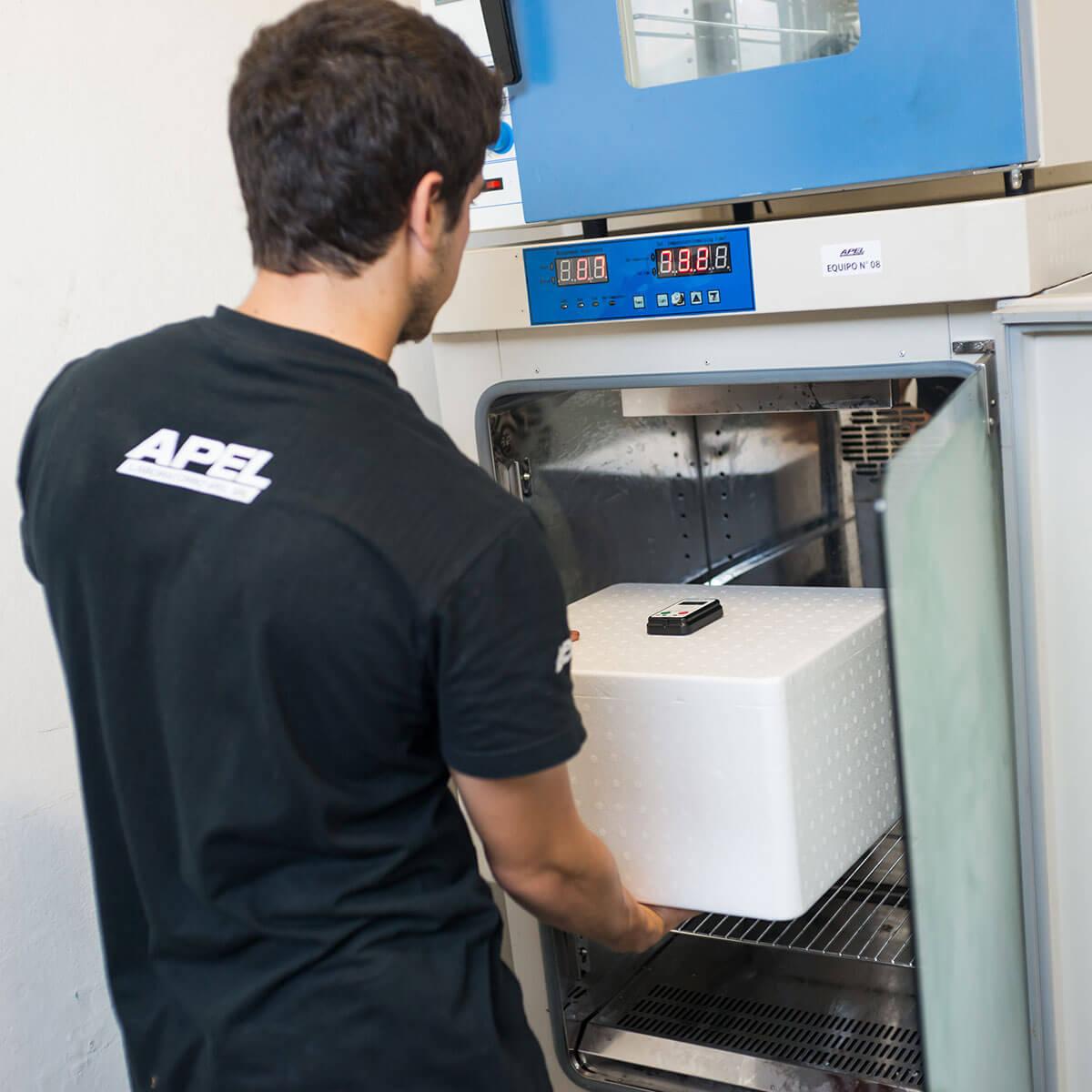 Calificación de embalaje térmico para el transporte de productos de cadena de frío